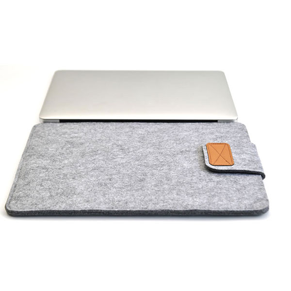 Soft <font><b>Sleeve</b></font> Felt Bag Case Cover Anti-scratch for 11inch/ <font><b>13inch</b></font>/ 15inch Macbook Air Pro Retina Ultrabook <font><b>Laptop</b></font> Tablet JFlyer image