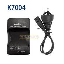 K7004 K 7004 Camera Battery Charger For Kodak KLIC-7004 KLIC 7004 V1073 V1233 V1253 V1273 M1033 M2008 C763 C743