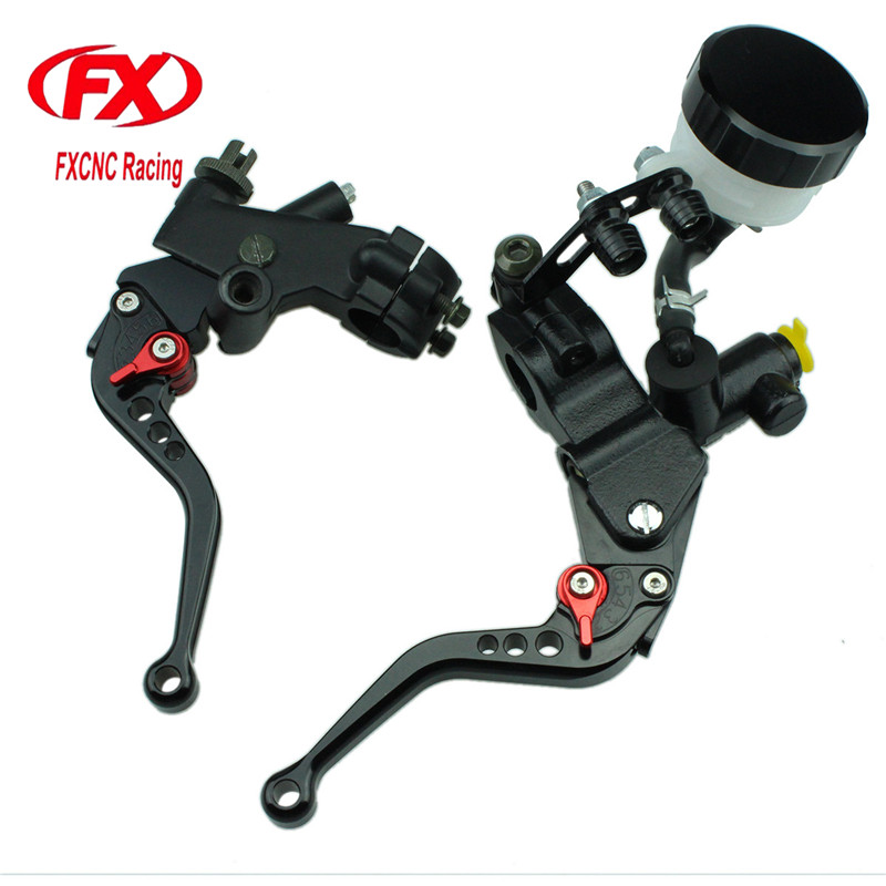 FX CNC 125-600cc 7/8 22MM Hydraulic Motorcycle Brake Cable Clutch Set Brake Lever For Yamaha DT125X 2005 Motorcycles fxcnc universal stunt clutch easy pull cable system motorcycles motocross for yamaha yz250 125 yz80 yz450fx wr250f wr426f wr450