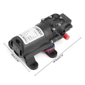 Image 5 - 12V 72W wysokiego ciśnienia mikro membranowa pompa wodna przełącznik automatyczny zarzucanie treści żołądkowej do przełyku/inteligentny typ
