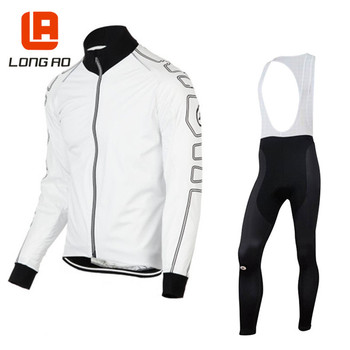 Men cycling jersey set long sleeve Cycling Clothing Bike Clothes Wear MTB Bicycle Cycling Jersey Set Maillot Ropa Ciclismo
