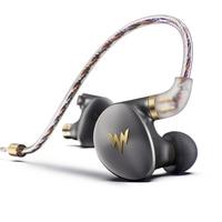 Whizzer A HE03 Juicy Bass Earphones HiFi Hi Res Headsets Hybrid 2 Knowles Armature Clear Warm Sound Metal In Ear Earphones