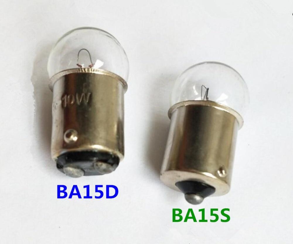 CEC Industries #90 Bulbs 7.54 W G-6 shape Box of 10 BA15d Base 13 V