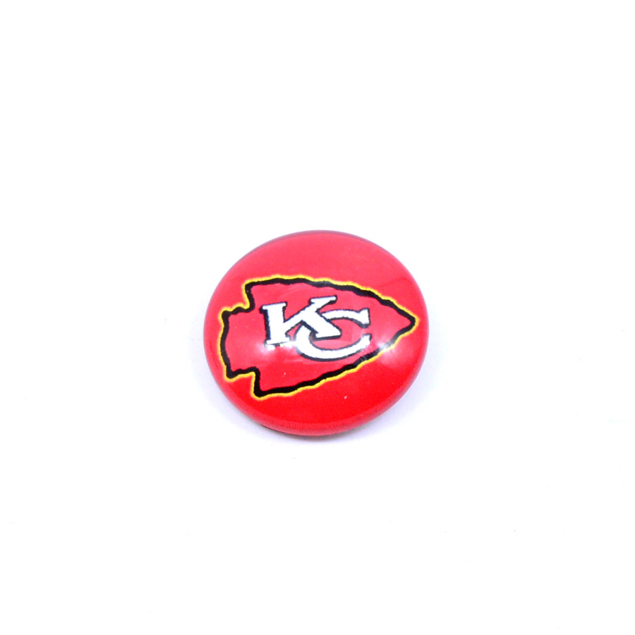 Football Kansas City Chiefs Floating Charms For Glass