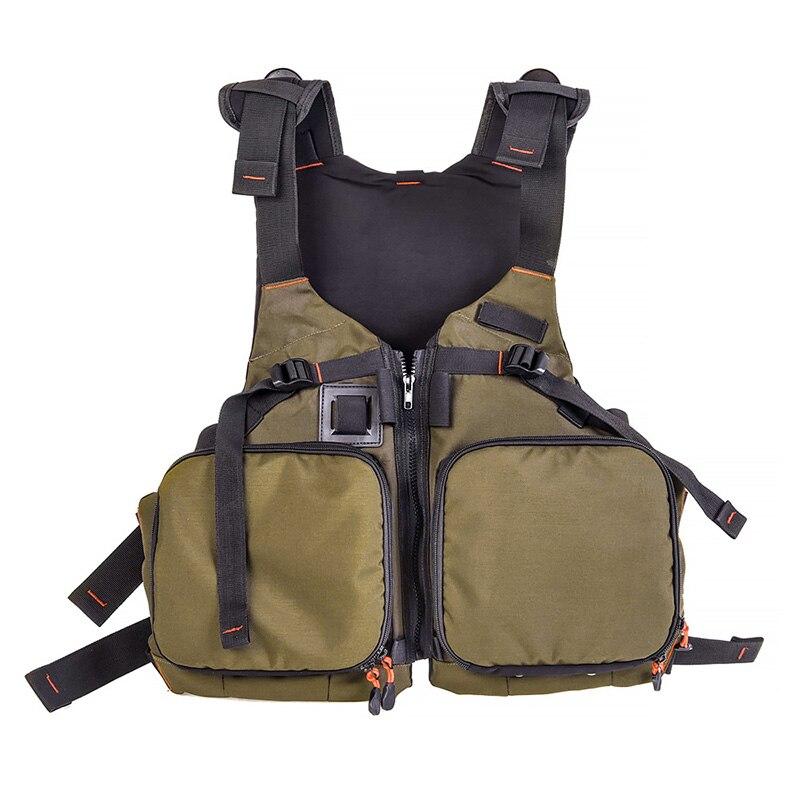 2019 Nieuwste Ontwerp Vissen Vest Algemene Size Multi Functie Verstelbare Mesh Vest Met Mutil-pocket Outdoor Vissen Leven Vest Jas
