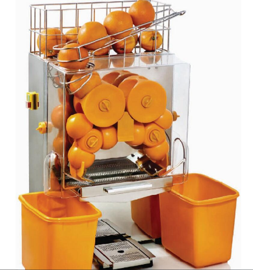 Orange Juice Squeezer Commercial Orange Juicer Electric Squeezed Fruit Juice Machine JS-2 цена