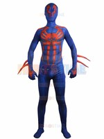 Spider man 2099 Costume Printing Fullbody Halloween Cosplay Spiderman Costume Hot Sale Show Zentai Suit