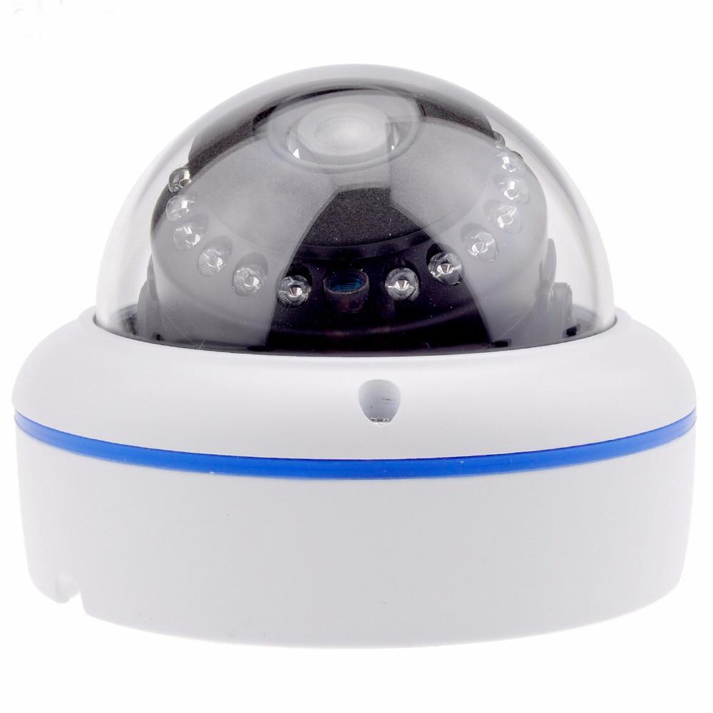 Dome Vandal proof IP Camera CCTV 1080P ONVIF Security HI3516CV300 Processor Surveillance Camera сковорода нева металл 4528 28см 4528