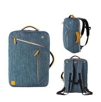 Gentleman triangle Multi-Function Unisex laptop bag Fashion Design Laptop Bags Fit for 15 Inch Laptop Bag 15.6 Large Capacity