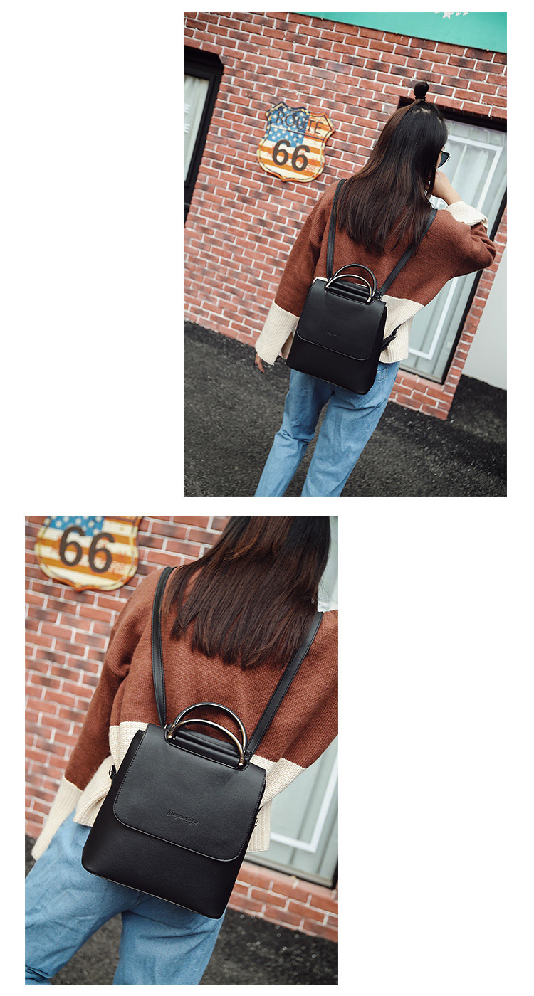 HTB1sA33bW5s3KVjSZFNq6AD3FXan - Fashion Women Backpack Pu leather travel bagpack large School Shoulder Bags For Teenager Girls mochila feminina  Quality