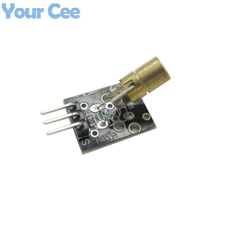 5 V Sender Laser Sensor Modul 6mm 5 V 5 mW 650nm Rot Laser Dot Diode Kupfer Kopf für arduino Wandler Quelle Wellenlänge