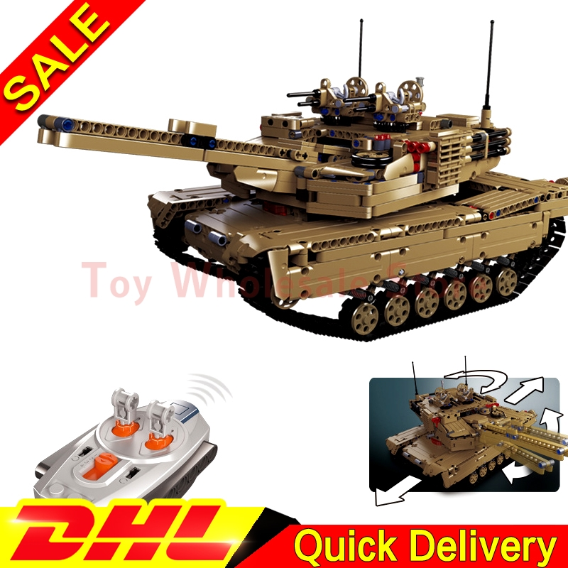 Lepin 20070 The Remote Control Tank Set Genuie 1572Pcs Military War Series Building Blocks Bricks Educational Toys As Funny Gift military hummer rc tank building blocks remote control toys for boys weapon army rc car kids toy gift bricks compatible lepin