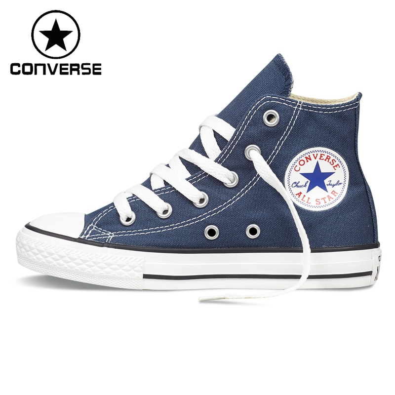d85519653bb Original New Arrival Converse Classic Kids  Canvas Shoes High top Sneakser