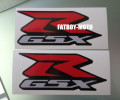 Motorcycle Bike for Suzuki GSXR 600 750 1000 decal sticker one pair
