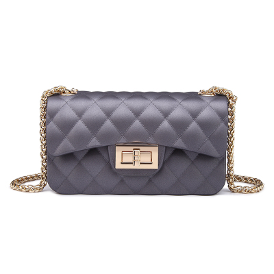 ФОТО China Manufacturer High Quality Beach Candy Color Jelly Bag Cute Women Messenger Designer Handbags