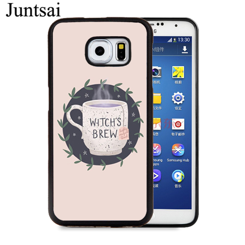 Witch Aesthetic Art Case For Samsung Galaxy A51 A71 A7 S8 S9 S20 Ultra S10 Plus S10e A10 A20 A30s A40 A50 A70 Note 10 Fitted Cases Aliexpress