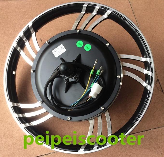16 Inch Or 18 Inch Bldc Brushless Dc Wheel Hub Motor 500w