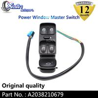 XUAN Power Window Master Control Lifter Switch A2038210679 For Mercedes Benz C CLASS W203 C180 C200 C220 SL500
