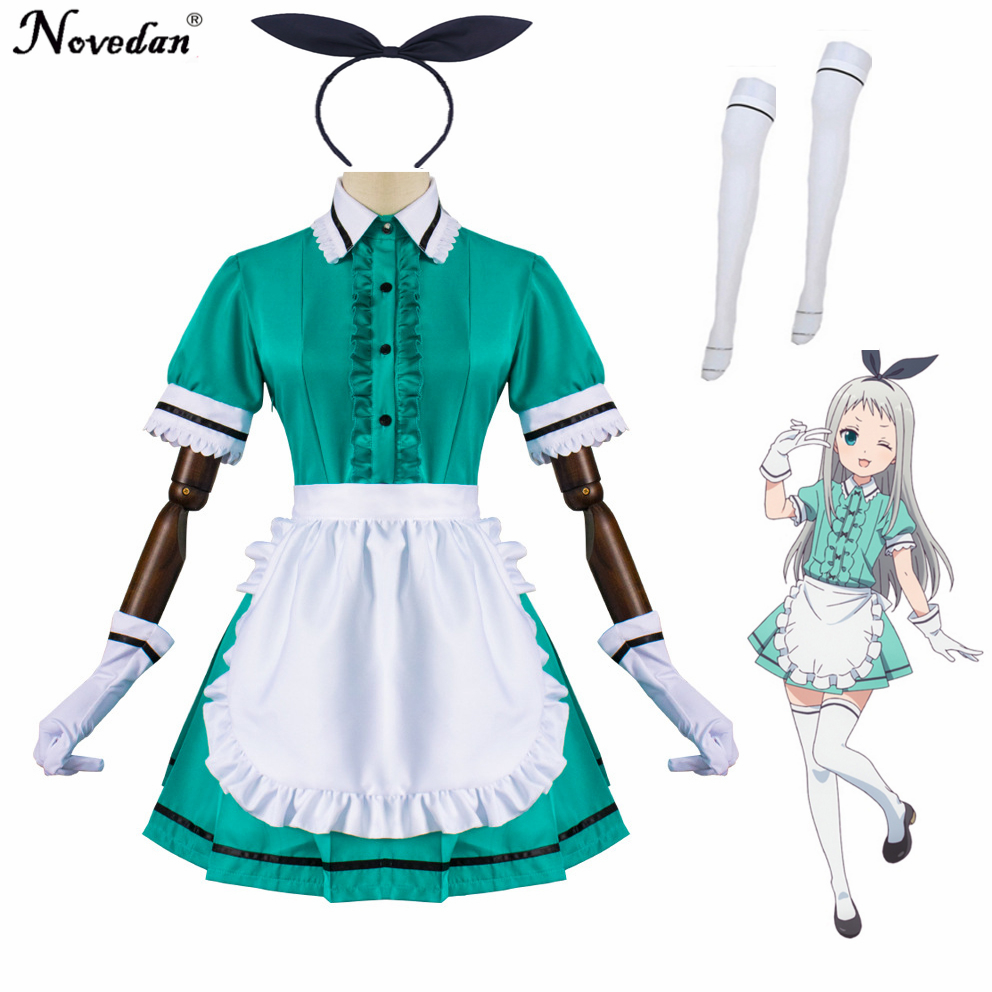 Blend Hideri Kanzaki Coffee Maid Maika Sakuranomiya Cosplay Costume Japanese Anime Uniform Suit Outfit Clothes
