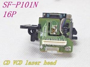 Image 2 - 새로운 10pcs SF P101N / SF 101N 16 핀/SF P101 16 핀 광학 픽업 SFP101N/SFP 101N CD/VCD 플레이어 레이저 렌즈 SF P101N 16P