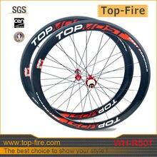 700c basalto superficie de frenado ruedas de carretera de carbono ruedas de carbono de peso ligero 50mm bicicleta de carretera wheels3k brillante 20/24 H WH-R50T