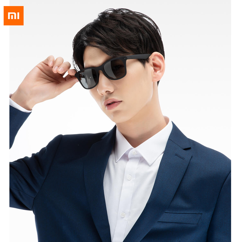 4700d3fb2 Xiaomi Mijia Youpin TS hipster traveler Sunglasses for man woman Polarized  lens Sunglasses
