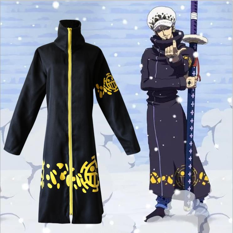 One Piece 2 years later Trafalgar COS clothing Luo jacket cloak cosplay anime performance clothing