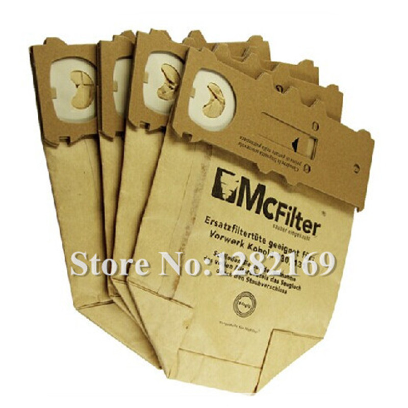 10 pieces/lot Vacuum Cleaner Bags Paper Dust bag for <font><b>Vorwerk</b></font> <font><b>VK130</b></font> Vk131 Vacuum Cleaner Parts Accessories image