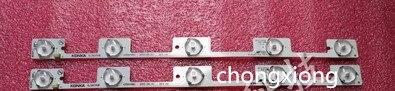 50pcs lot LED backlight lamp strip for 39Inch TV KL39GT618 35017988 35017990 5 LEDs 6V 307mm