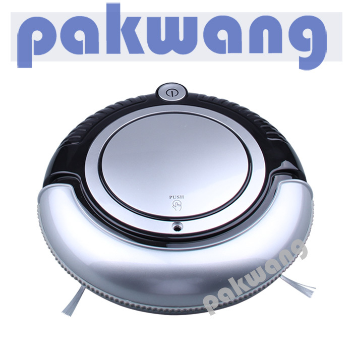 K6L Mini Robot Vacuum Cleaner with 3 cleaning route, HEPA filter, one button turn on/off cleaner big mop robotic vacuum