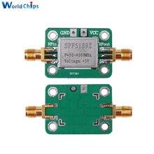 SPF5189 0.6dB wzmacniacz odbiornik sygnału LNA 50-4000 MHz RF niski poziom hałasu płyta wzmacniacza moduł dla FM HF VHF/krótkofalowe uhf Radio Hot