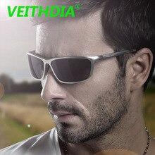 VEITHDIA Brand Aluminium Magnesium Men Polarized Sunglasses Design Driving Sun Glasses Mirror Goggles Accessories Fashion 6520