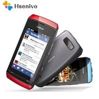 305 100% original desbloqueado nokia asha 3050 305 telefone móvel 3.0 2 2g bluetooth fm duplo sim telefone móvel remodelado frete grátis