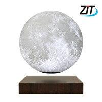15 см 3D луна лампа магнитная левитация плавающий сенсорный светодио дный светодиодный ночник для детей Дети декоративная настольная лампа п