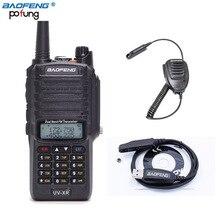 Baofeng UV-XR 10 Вт мощный 4800 мАч Батарея IP67 Водонепроницаемый двухстороннее Радио Двухдиапазонный портативный 10 км Двухканальные рации + кабель + динамик