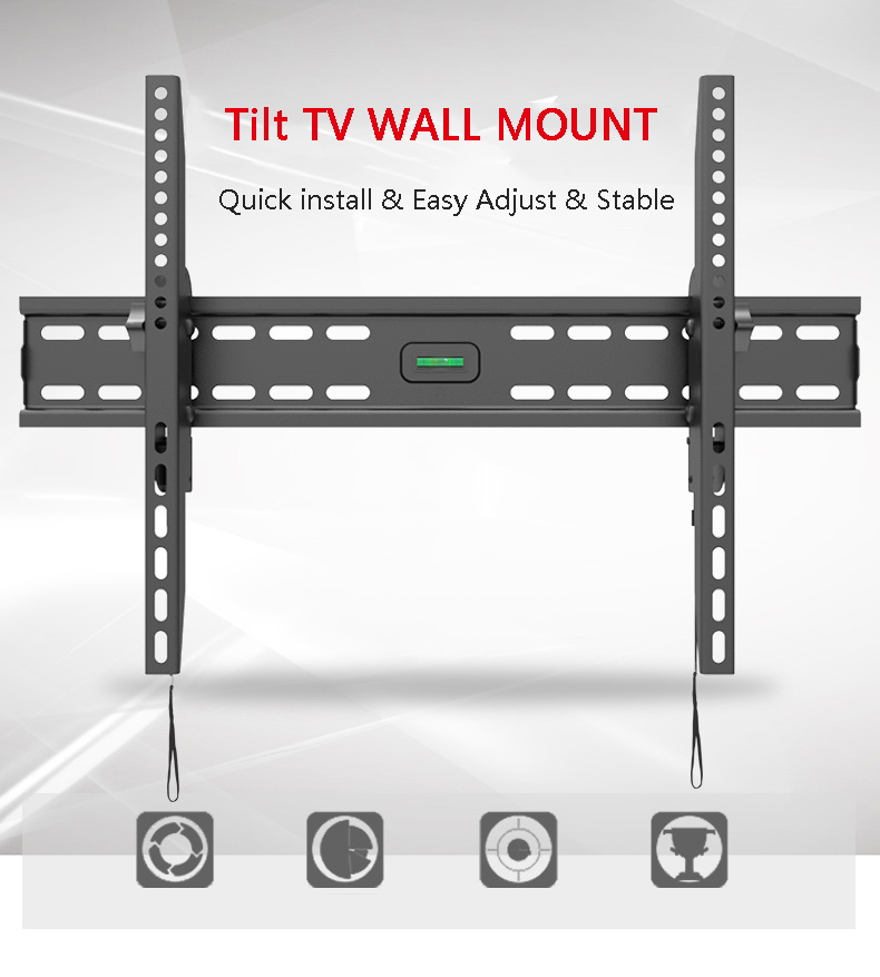CNXD Universal TV de montaje en pared soporte de inclinación TV ...