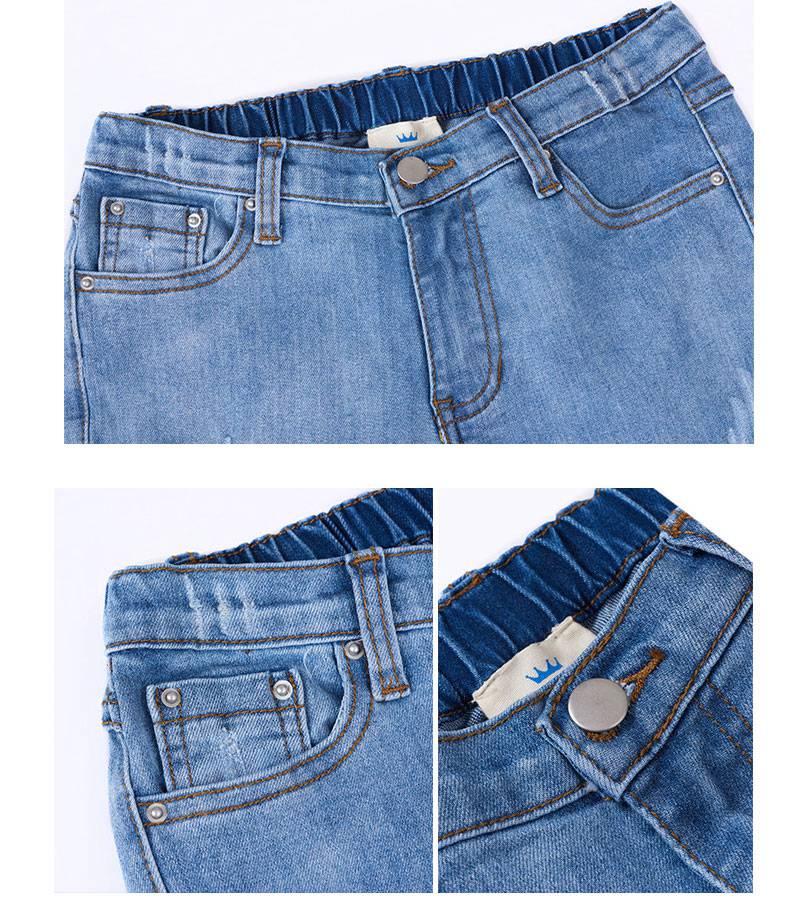 flare jeans girl G2100-13