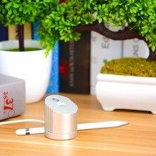 1 szt. Zdejmowana aluminiowa ładowarka stacja ładująca stacja dokująca z 1.5m kablem ładującym do Apple iPad Pro Pencil