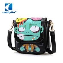 2016 new handbag bag small diagonal square bag lady lovely cartoon Mini Shoulder Messenger Bag