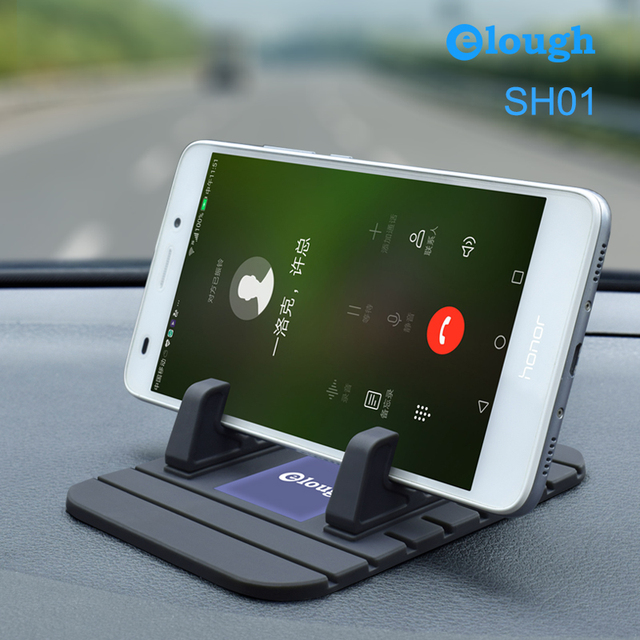 Universal Car Phone Holder GPS Display Support Mobile Soft Silicone Anti Slip Phone Stand for iPhone Samsung Xiaomi Car Holder