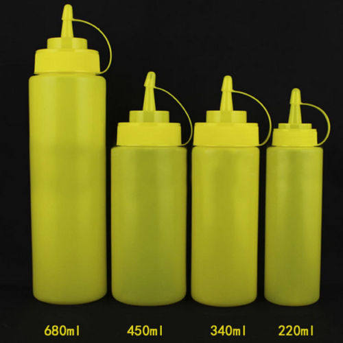 Merveilleux LINSBAYWU 1 Pcs 12oz Plastic Kitchen Oil Sauce Ketchup Squeeze Bottle  Condiment Dispenser 340ml