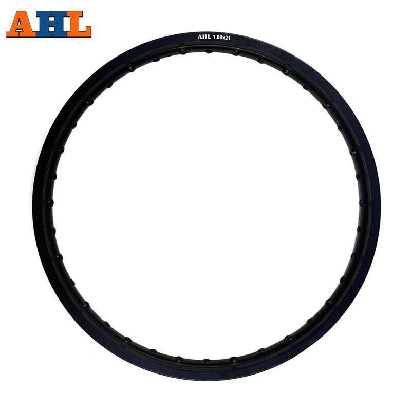 6061 Motorcycle Black Silver Rims Aviation aluminum Wheel Circle 1 60x21 36 Spoke Hole 160 x