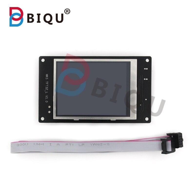 Biqu impresora 3d panel de control de 3.2 pulgadas de pantalla táctil a todo col