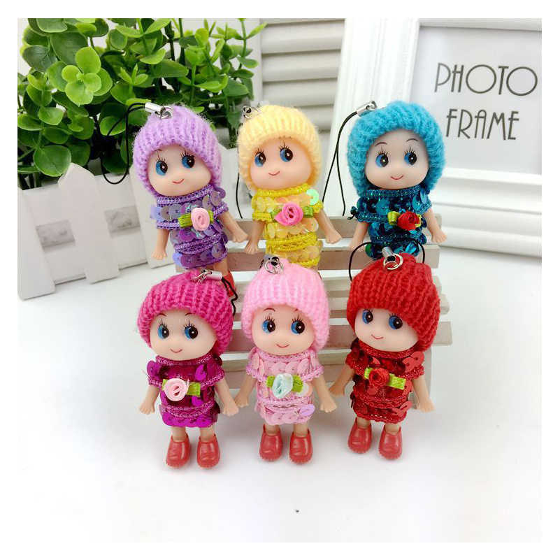 5pcs/set 8cm Little Kelly Confused Doll Princess Mini Simba Cute Baby Kelly Dolls Body Toys For Girls Children Gifts