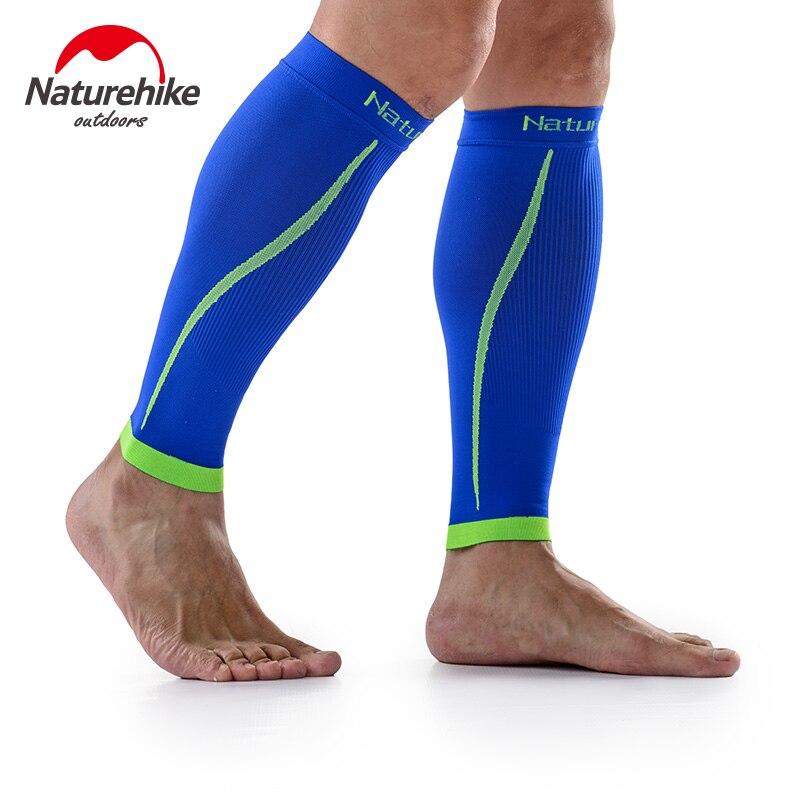 Prix pour NatureHike Respirant de Course Compression Leg Manches Muscle Protection Sécurité Chaussettes Basket-Ball Shin Guard Exécution Jambières