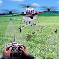 10 KG sistema de protección de los cultivos Agrícolas de pulverización para DIY Agrícola multi rotor UAV drones pesticidas