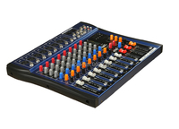 Hot Sale 8 Channels Digital Professional DJ Audio Mixer With USB LCD Display For KTV,Conference,Stage Party, DJ Equipemnt
