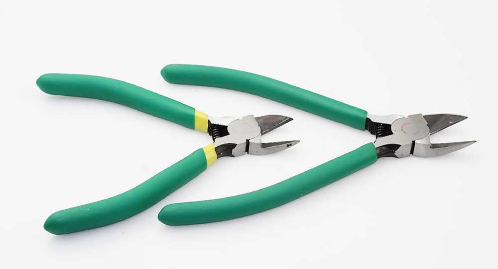 CR-V Plastic Tang 5/6Inch Sieraden Elektrische Draad Kabel Cutters Snijden Side Knipt Handgereedschap Elektricien Tool