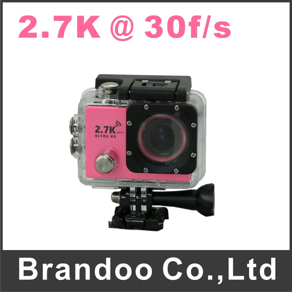 ФОТО 140 degree view angle sports camera, 32GB sd auto recording diving camera, 30 meters waterproof, model W9 from Brandoo
