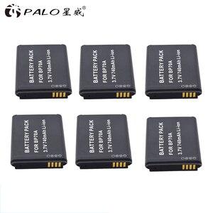 Image 2 - بالو 6X BP 70A BP 70A BP70A قابلة للشحن ليثيوم أيون بطارية لأجهزة سامسونج PL80 PL90 PL100 ES70 SL50 SL600 ST30 ST60 ST65 TL105 كاميرا